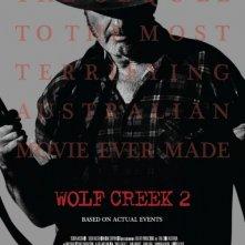 Wolf Creek 2 - La preda sei tu: il primo poster internazionale del film