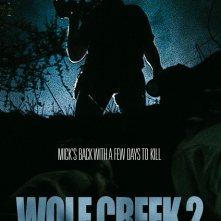 Wolf Creek 2 - La preda sei tu: nuovo poster internazionale del film