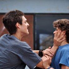 La vida después: Américo Hollander con Rodrigo Azuela in una concitata scena