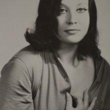 Un ritratto in bianco e nero di Olimpia Cavalli
