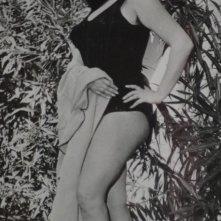 Una immagine di Olimpia Cavalli in costume da bagno.