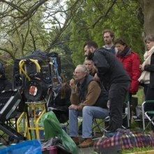 Still Life: il regista Uberto Pasolini sul set
