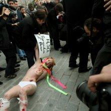 Ukraine is not a Brothel: una scena del documentario sulle Femen