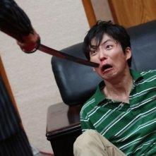 Why Don't You Play in Hell?: Hiroki Hasegawa in una scena del film