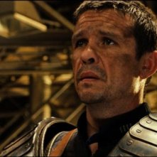 Matt Nable in una scena di Riddick