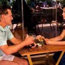May in the Summer: Bill Pullman con Cherien Dabis in una scena