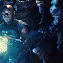 Riddick: Bokeem Woodbine in una scena