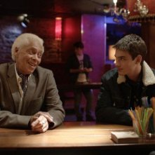 Gerontophilia: Walter Borden insieme con Pier Gabriel Lajoie in una scena del film
