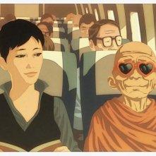 L'arte della felicità: una scena del film di Alessandro Rak