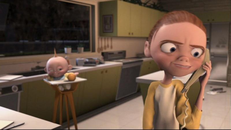Jack-Jack Attack: una scena del corto Pixar