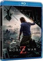 La copertina di World War Z (blu-ray)