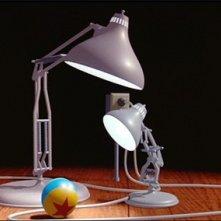 Luxo Junior: una scena del corto Pixar