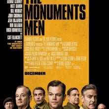 Monuments Men: la locandina del film