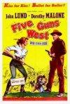 Cinque colpi di pistola: la locandina del film