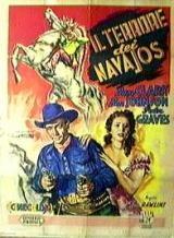Il terrore dei Navajos: la locandina del film