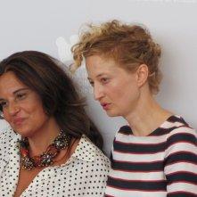 Emma Dante con Alba Rohrwacher alla Mostra di Venezia 2013 con Via Castellana Bandiera