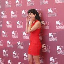 Algunas Chicas a Venezia 2013 -  Agostina Lopez, una delle attrici del film