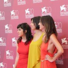 Algunas Chicas a Venezia 2013 - Santiago Palavecino con Agostina Lopez, Agustina Munoz e Agustina Costa Varsi