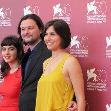 Algunas Chicas a Venezia 2013 - Santiago Palavecino con Agostina Lopez e Agustina Munoz