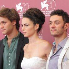 Il terzo tempo: Lorenzo Richelmy, Enrico Maria Artale e Margherita Laterza presentano il film a Venezia 2013