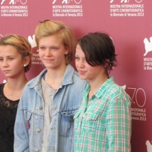 Mira Barkhammar, Liv LeMoyne, Mira Grosin a Venezia 2013 - sono le protagoniste di We Are the Best!