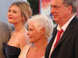 Philomena: Stephen Frears con Judi Dench e Sophie Kennedy Clark presentano il film a Venezia, sul red carpet