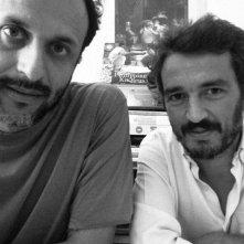 Bertolucci on Bertolucci: i registi del documentario Luca Guadagnino e Walter Fasano in una foto promozionale