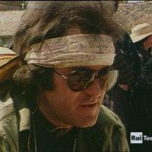 Bertolucci on Bertolucci: un giovane Bernardo Bertolucci in una scena del documentario