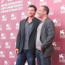 Il regista Peter Landesman e Tom Welling presentano Parkland alla Mostra di Venezia 2013