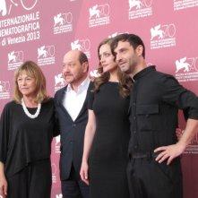 Miss Violence: il regista Alexandros Avranas a Venezia 2013 con il cast del film