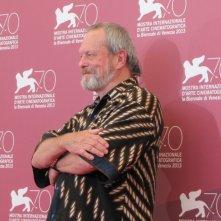 il regista Terry Gilliam presenta il suo The Zero Theorem a Venezia 2013