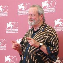 il regista Terry Gilliam presenta il suo The Zero Theorem alla Mostra di Venezia 2013