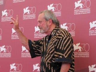 il regista Terry Gilliam presenta The Zero Theorem a Venezia 2013