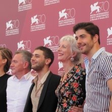 Tom At The Farm: Xavier Dolanl presenta il film a Venezia 2013 con Pierre Yves Cardinal, Lise Roy, Evelyne Brochu e Michel Marc Bouchard