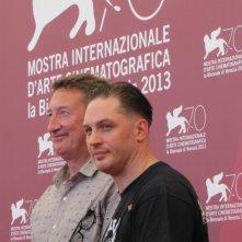 Venezia 2013 - Tom hardi e Steven Knight presentano 'Locke' alla Mostra