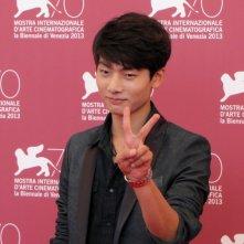 Moebius: l'attore Seo Young-ju presenta il film alla 70esima Mostra di Venezia, nel 2013
