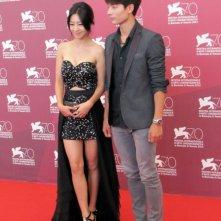 Moebius: Seo Young-ju con Lee Eun-woo presenta il film alla Mostra di Venezia, nel 2013