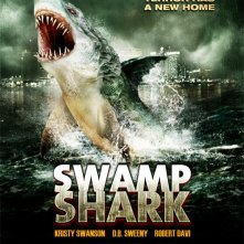 Swamp Shark: la locandina del film