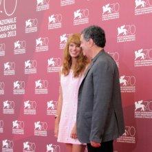 Yuval Scharf  e Amos Gitai presentano 'Ana Arabia' alla Mostra Venezia 2013