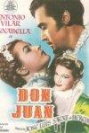 Don Juan - la spada di Siviglia: la locandina del film