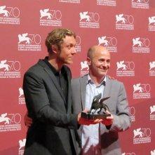 Gli autori Ruin a Venezia 2013 con il premio della giuria per Orizzonti: Michael Cody con Amiel Courtin-Wilson