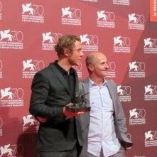 I registi di Ruin a Venezia 2013 con il premio della giuria per Orizzonti: Michael Cody e Amiel Courtin-Wilson