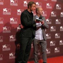 I registi di Ruin a Venezia 70 con il premio della giuria per Orizzonti: Michael Cody con Amiel Courtin-Wilson
