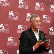 Venezia 2013 - Robin Campillo con il premio Orizzonti vinto per Eastern Boys