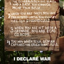 I Declare War: nuovo poster USA 2