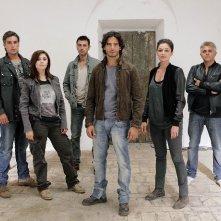 Squadra antimafia 5: una foto promozionale del cast della quinta stagione