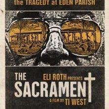 The Sacrament: la locandina del film