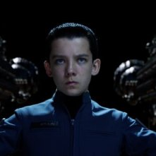 Ender's Game: Asa Butterfield in una scena