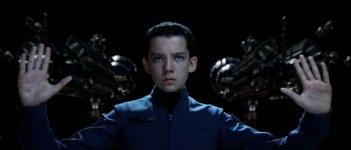 Ender's Game: Asa Butterfield in una scena