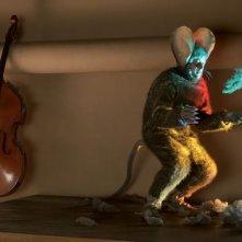 Sacha Bourdo è 'il topo' nel film Mood Indigo - La schiuma dei giorni